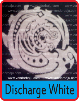 discharge white