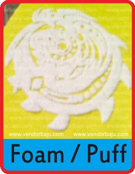 foam atau puff