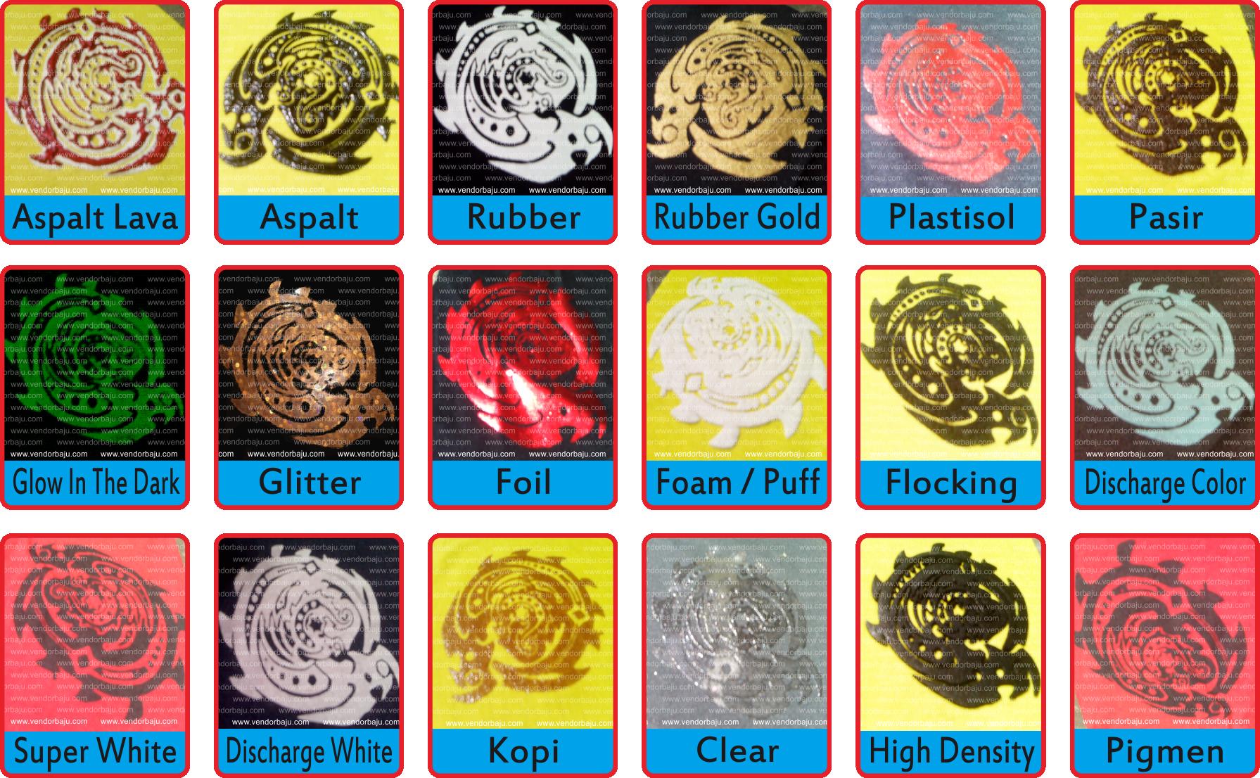 katalog 18 jenis sablon