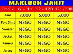 Makloon Jahit bandung